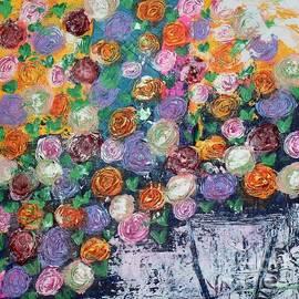 Ranunculus Riot by Kim Nelson