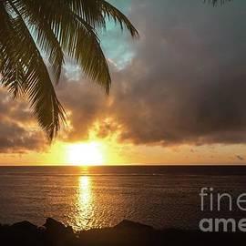 Jayden Carter - Rarotonga sunset