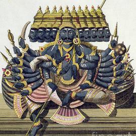 Ravana, demon king of Ceylon - Pierre Sonnerat