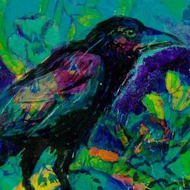 Raven 3 by Susan Brown    Slizys art signature name