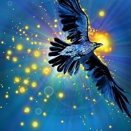 Raven First Bird by Katherine Nutt