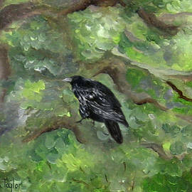 Raven In The Om Tree by FT McKinstry