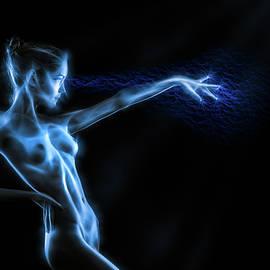 Reaching Figure Darkness by Rikk Flohr