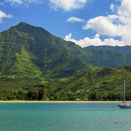 James Eddy - Ready To Sail In Hanalei Bay