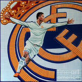 Real Madrid Painting by Paul Meijering