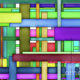 Rectangle Matrix 6ALG - AMCG20180320 40 x 27 by Michael Geraghty