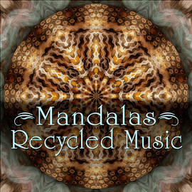 Recycled Music Mandalas by Becky Titus