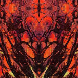 Sharon Cummings - Red Abstract Art - Heart Matters - Sharon Cummings