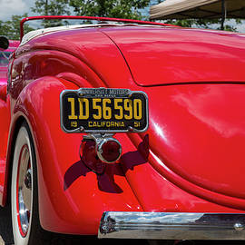 Red and Chrome by Jeff Roney