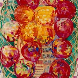 Rumyanka Bozhkova - Red Apples Naturmort