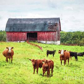 Red Barn by Lori Dobbs