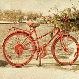 Red Bicycle by Garvin Hunter