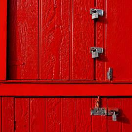 Red Cabinet by Tianxin Zheng