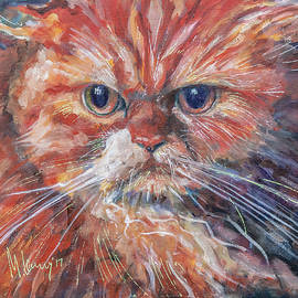 Red Cat by Maxim Komissarchik