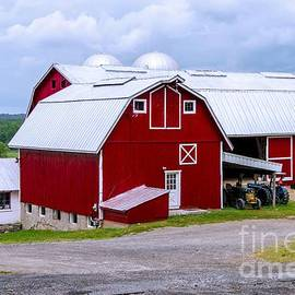 Red Country Barn by Anthony Sacco