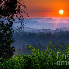 Red Dawn by Inge Johnsson