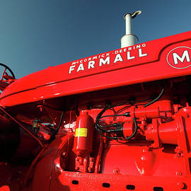 Red Farmall M by Todd Klassy