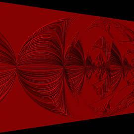 Red and Black Design. Art by Oksana Semenchenko