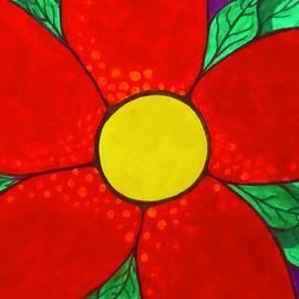 Rose Murphy - Red Flower