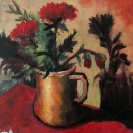 Kamal Medhat - Red flowers