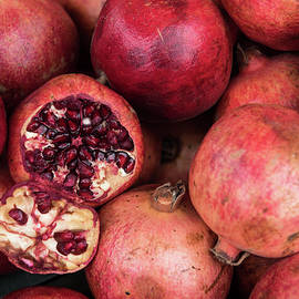Michalakis Ppalis - Red fresh Pomegranate fruits