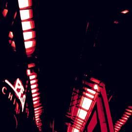 Red Geometric by Jenny Revitz Soper