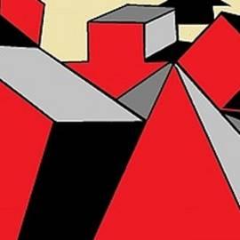 Linda Velasquez - Red, Grey, Cream 2