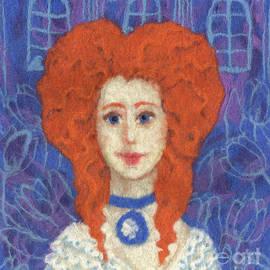 Red Hair by Julia Khoroshikh