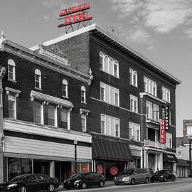 Red in Richmond Kentucky by Sharon Popek