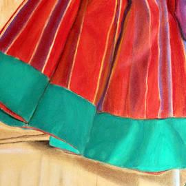 Anu Mani - Red Indian Skirt