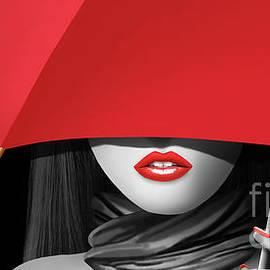 Monika Juengling - Red lips 2