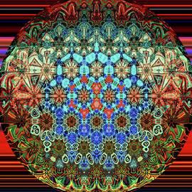 Little Pattern   Mandala by Grace Iradian