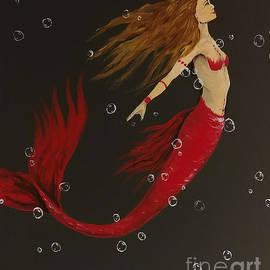 Heather James - Red mermaid