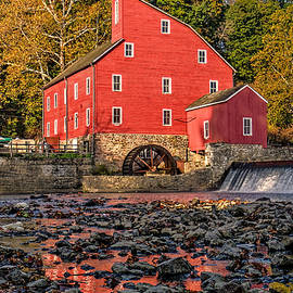 Red Mill  Fall Image by Geraldine Scull