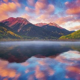 Red Mountain Reflection - Darren White