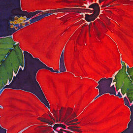 Red on Purple by Kelly     ZumBerge
