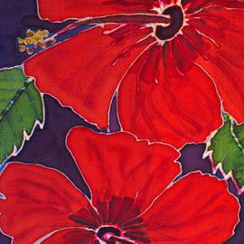 Kelly     ZumBerge - Red on Purple