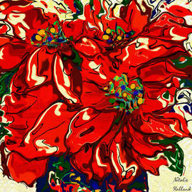 Natalie Holland - Red Poinsettia