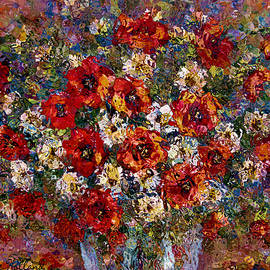 Natalie Holland - Red Poppies Bouquet