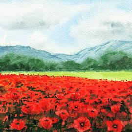 Irina Sztukowski - Red Poppies Field