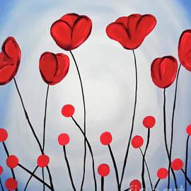 Jilian Cramb - AMothersFineArt - Red Poppies