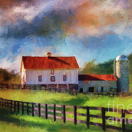 Lois Bryan - Red Roof Barn