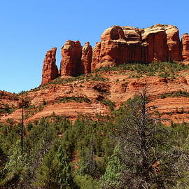 Christiane Schulze Art And Photography - Red Sandstone Rockformation