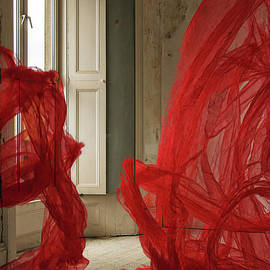 Red Silk Room by Marc Daly