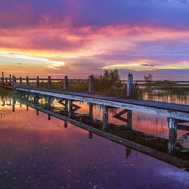 Red Sky at Night by Debra and Dave Vanderlaan