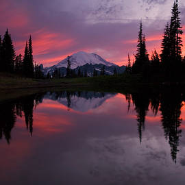 Red Sky at Night by Mike Dawson