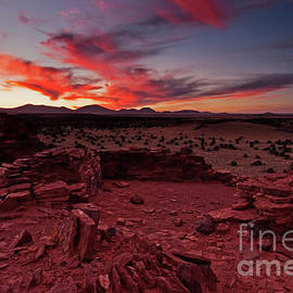 Red Sky Ruins by Mike Dawson