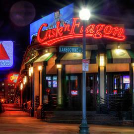 Joann Vitali - Red Sox Art - Cask n Flagon - CITGO Sign