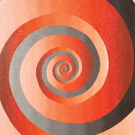 Red Spiral by Peter Antos