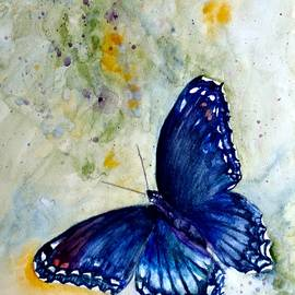 Red Spotted Purple 1 by Beverley Harper Tinsley